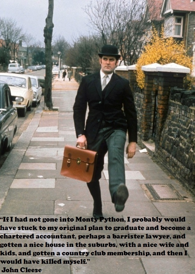 John Cleese is the man!