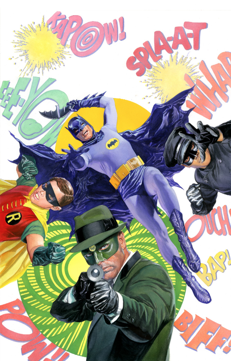 Batman 66 Meets the Green Hornet