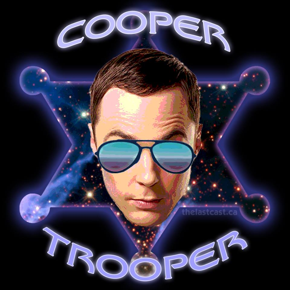 Cooper Trooper - The Big Bang Theory