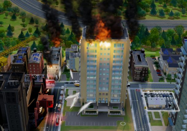 SimCity Burning