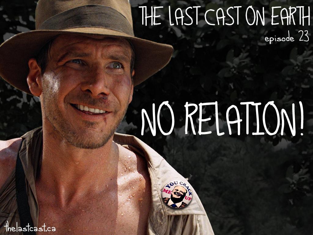 No Relation!